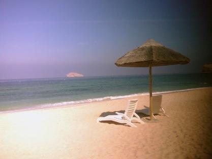 pdo beach. PDO itu semacam pertamina nya Oman.