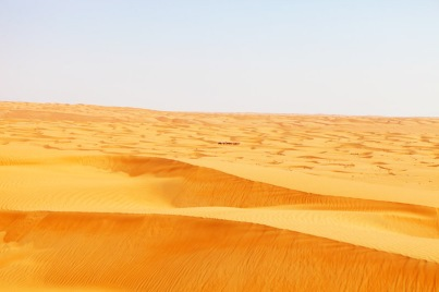 WAHIBA SANDS. THE EVER-CHANGING PATTERNS OF THE DUNES ARE A PHOTOGRAPHERS DELIGHT.