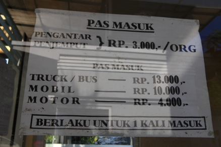 biaya masuk pelabuhan