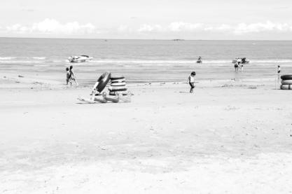 pengunjung pantai #2