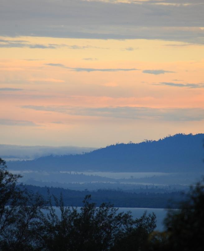 Dawn in Balikpapan