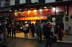 toko kue nomor satu d Macau