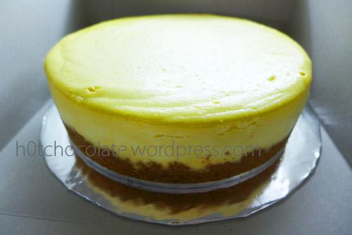 cheese cake siap untuk diantar