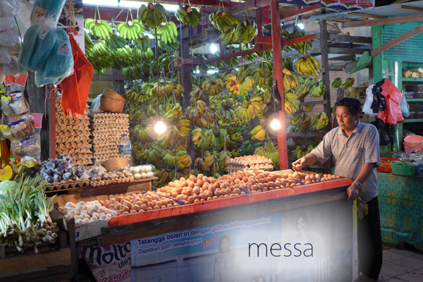 penjual pisang