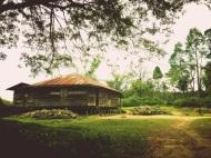 rumah penduduk di samosir