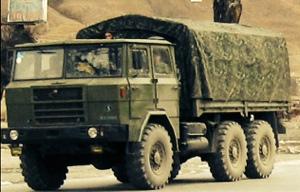 truk militer