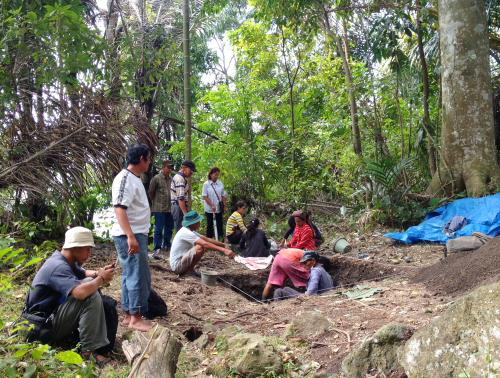 Tim arkeolog Medan.
