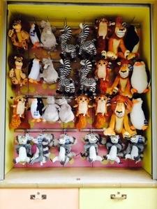 suvenir boneka Madagascar