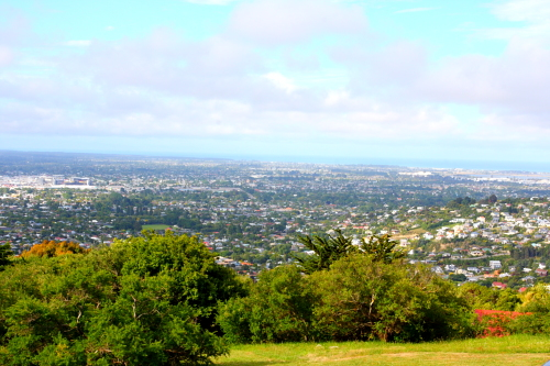Christchurch from Cashmere Hills