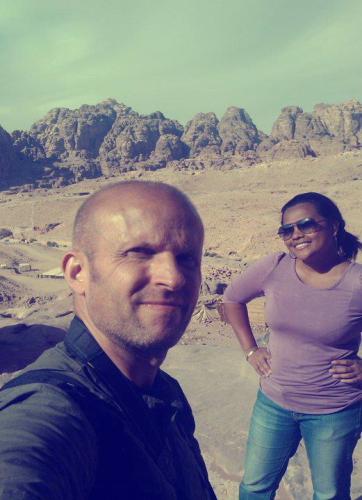wedding anniversary di Petra, Jordania (foto: dok.pribadi)