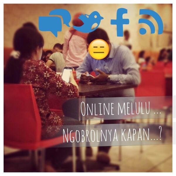 Online melulu