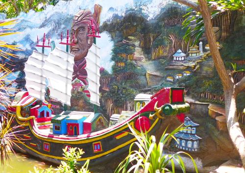 Relief Cheng Hoo dan Kapalnya
