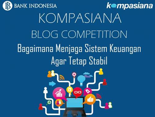 Kompetisi Blog Kompasiana-Bank Indonesia (foto: Kompasiana)