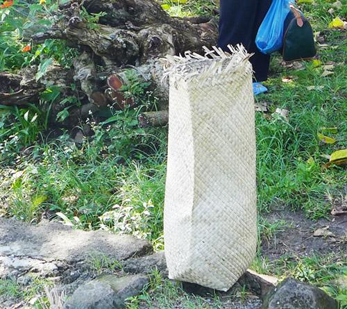 tandok berisi beras