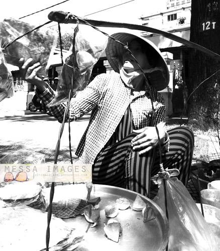 Penjual Jajanan Pinggir Jalan