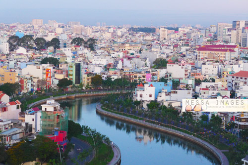 Ho Chi Minh City atau Saigon di Pagi Hari
