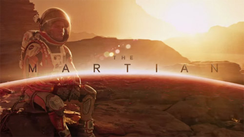 keep calm and watch the martian