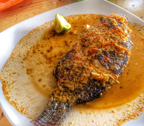 ikan bakar sambal tombur