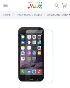 tempered glass smartphone murah